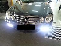Mercedes E W211 W 211 рестайлинг LED туманки диоды в бампер , решетки