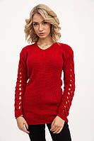 Свитер женский 122R025 цвет Красный