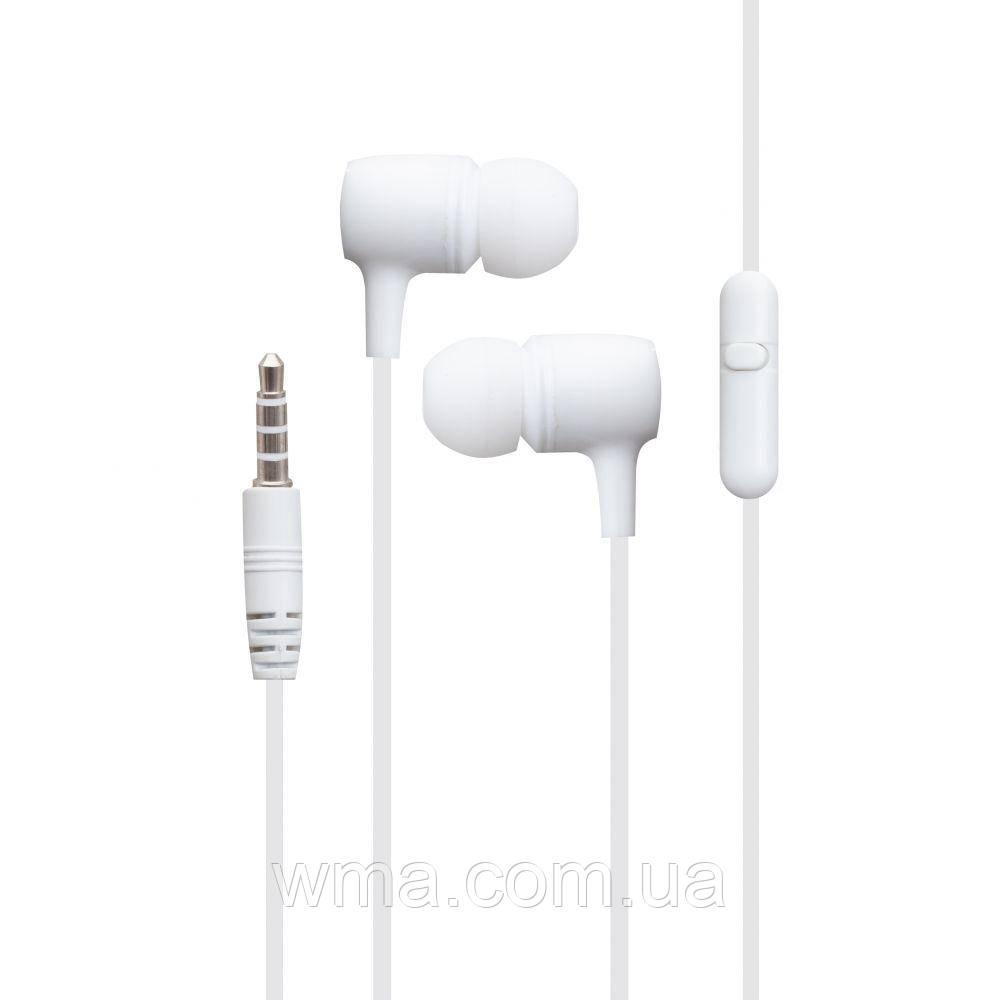 Проводные наушники для телефона Borofone BM43 Цвет Белый