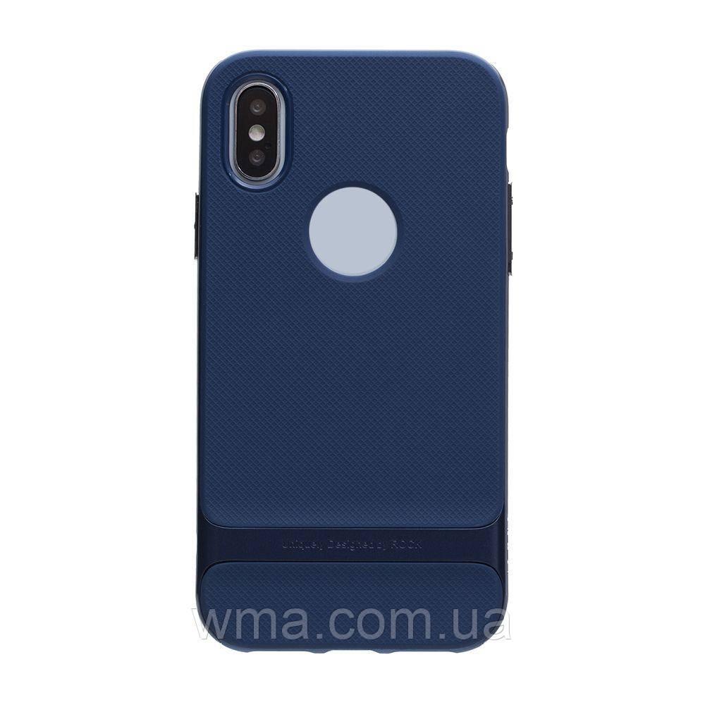 Чехол для телефонов (Смартвонов) Силикон Rock Royce Original Apple Iphone X Цвет Full Blue