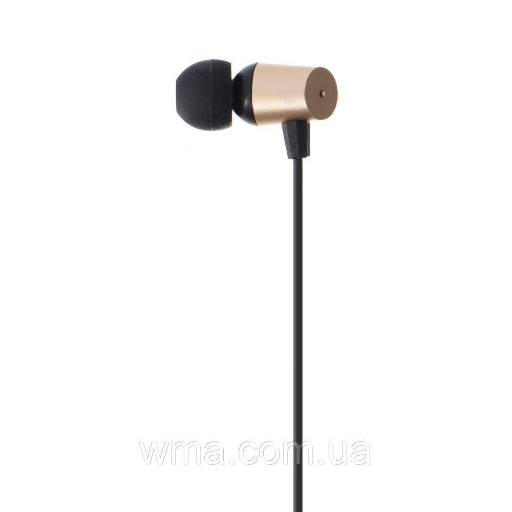 Проводные наушники для телефона Lapas RX300 Цвет Золотой