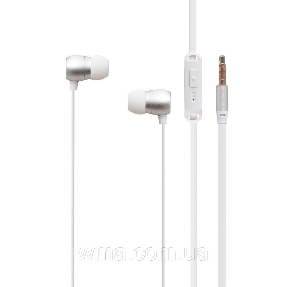 Проводные наушники для телефона Celebrat N1 Цвет Белый