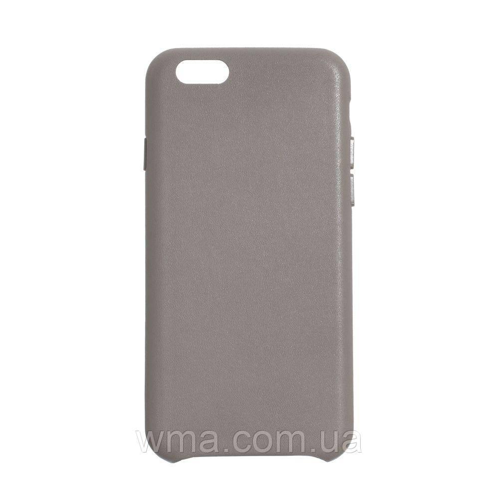 Чехол для телефонов (Смартвонов) Leather Case for Apple Iphone 6G Цвет 06, Taupe