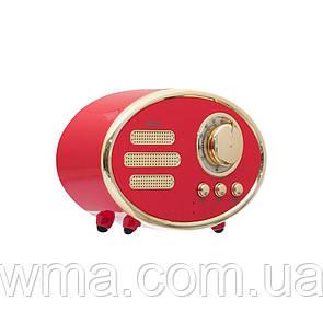 Bluetooth колонка (Беспроводная портативная блютуз) Hoco BS25 Time Цвет Красный