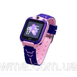 Умные часы (Smart Watch) Детские Смарт Часы S16/Z5 Цвет Розовый