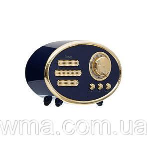 Bluetooth колонка (Беспроводная портативная блютуз) Hoco BS25 Time Цвет Синий