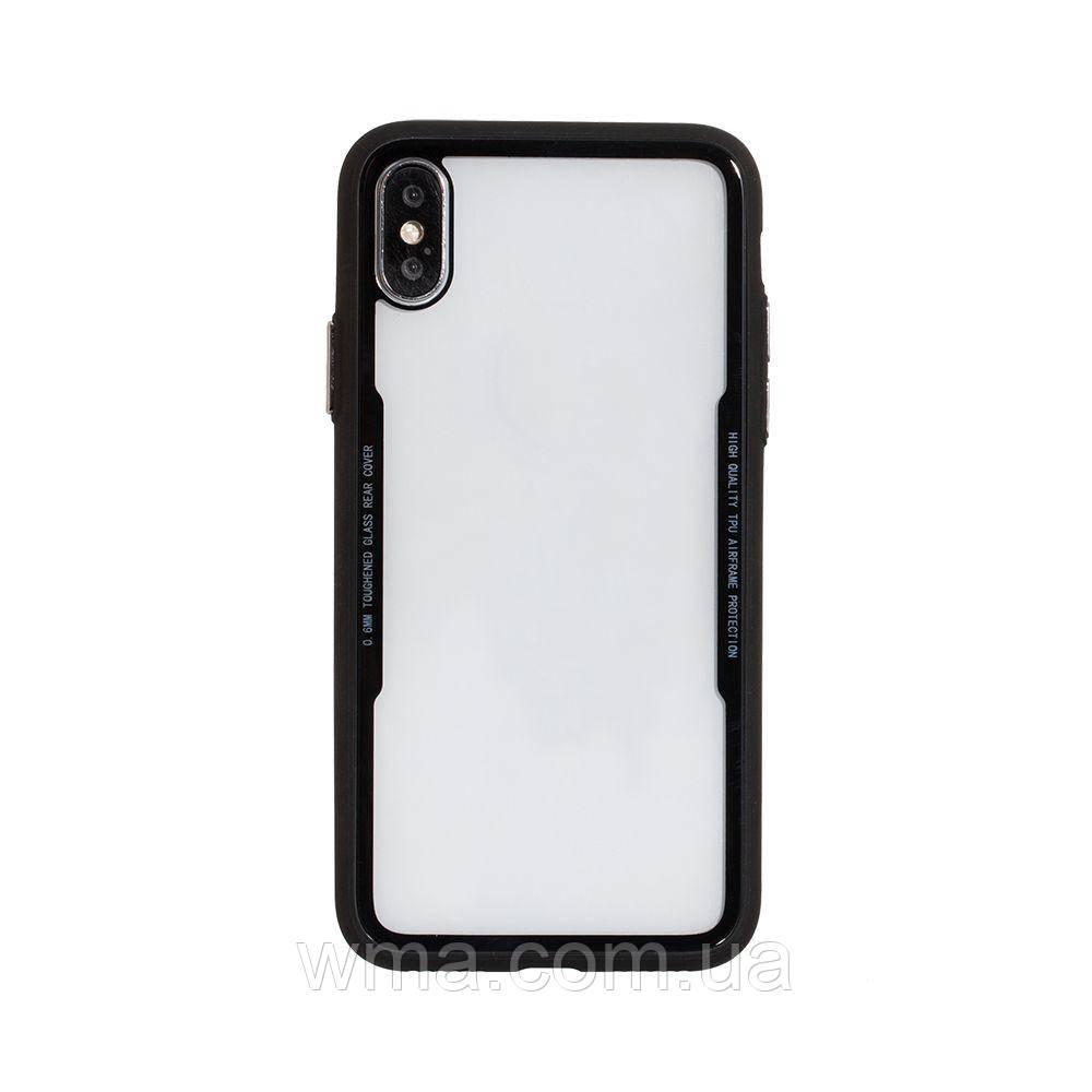Чехол для телефонов (Смартвонов) Задняя Накладка Tkoj Fashion for Apple Iphone X Цвет Чёрный