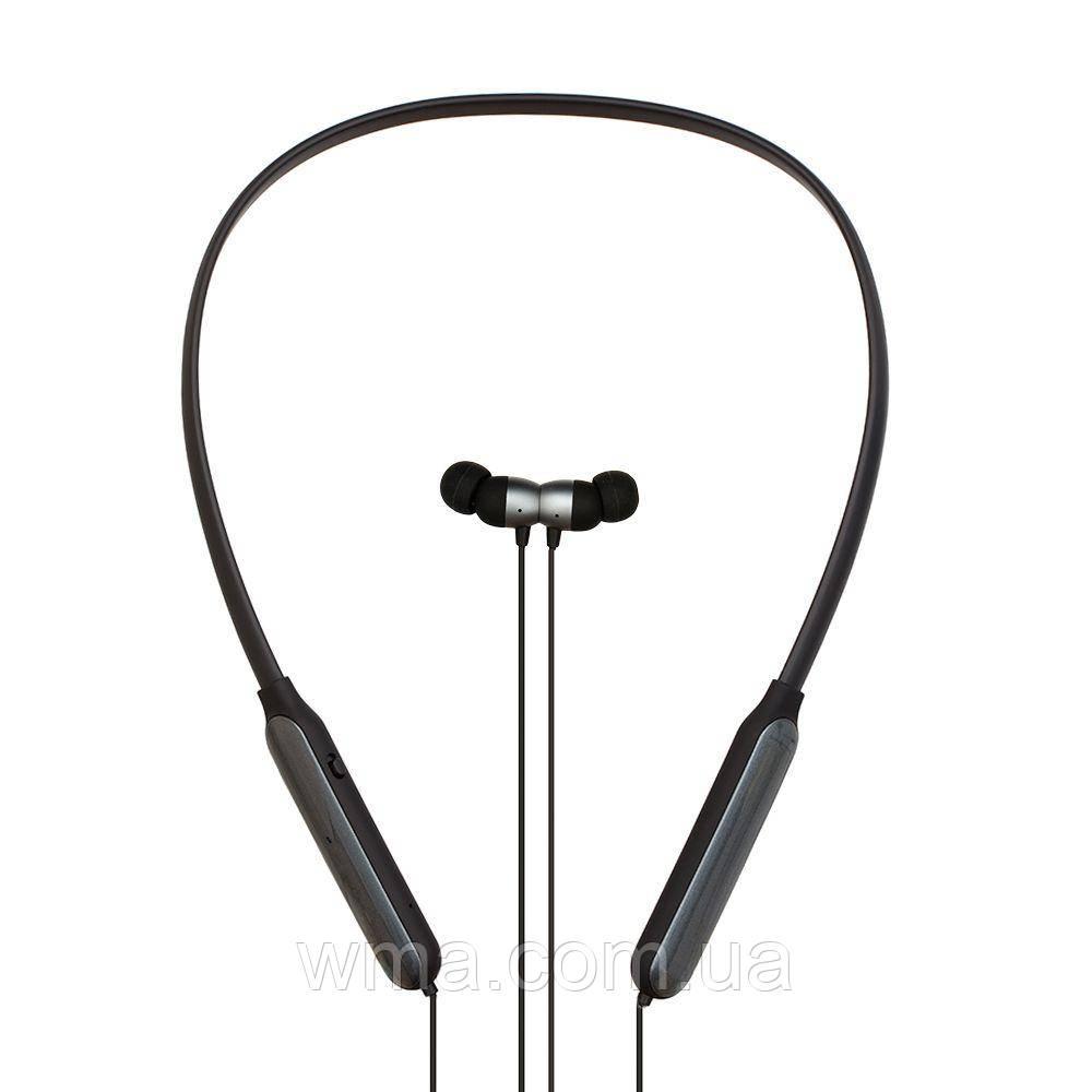Наушники беспроводные (Bluetooth гарнитура) Remax RB-S17 Цвет Серый (Tarnish)