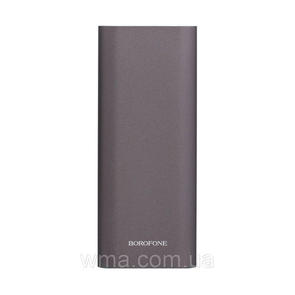 Power Bank (внешний аккумулятор) Borofone BT19B 20000 mAh Цвет Серый