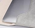 """Чехол для ноутбука 14"""" дюймов - серый, фото 5"""