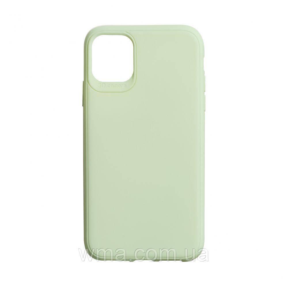 Чехол для телефонов (Смартвонов) TPU Logo for Apple Iphone 11 Цвет Зелёный