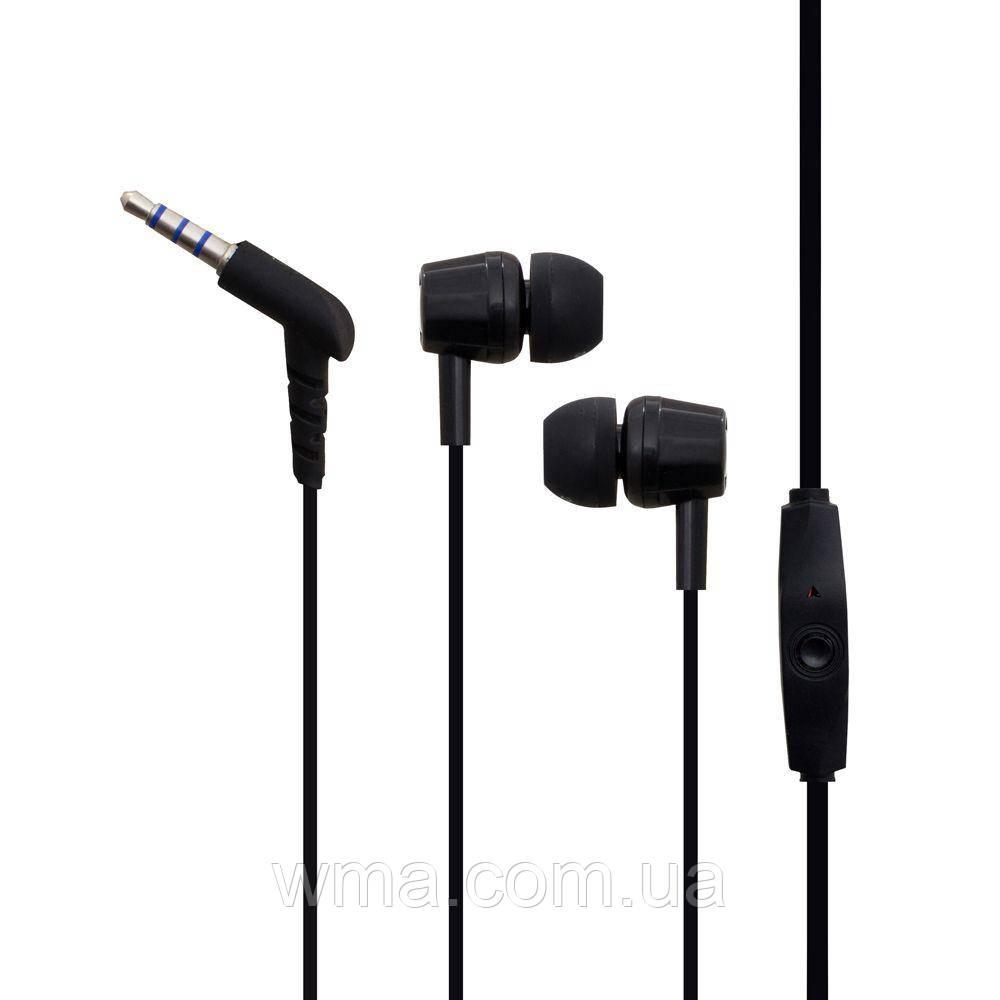 Проводные наушники для телефона Melody T9000 Цвет Чёрный