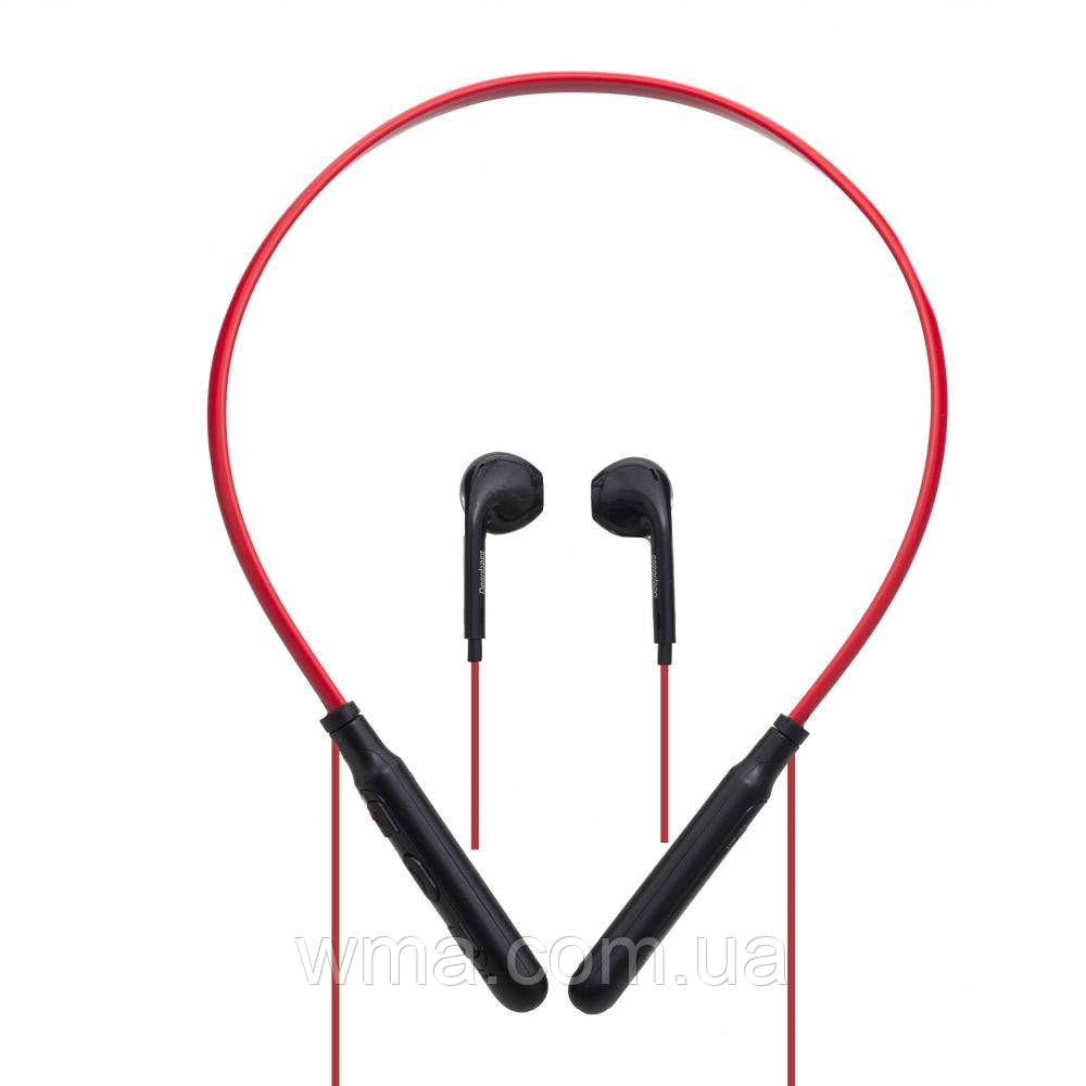 Наушники беспроводные (Bluetooth гарнитура) DeepBass DW-31 Цвет Красный