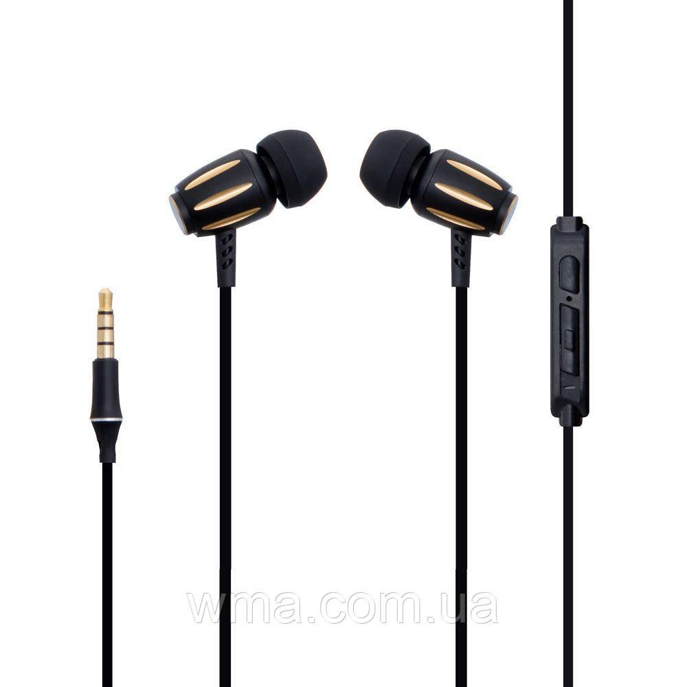 Проводные наушники для телефона XO S29 Цвет Золотой