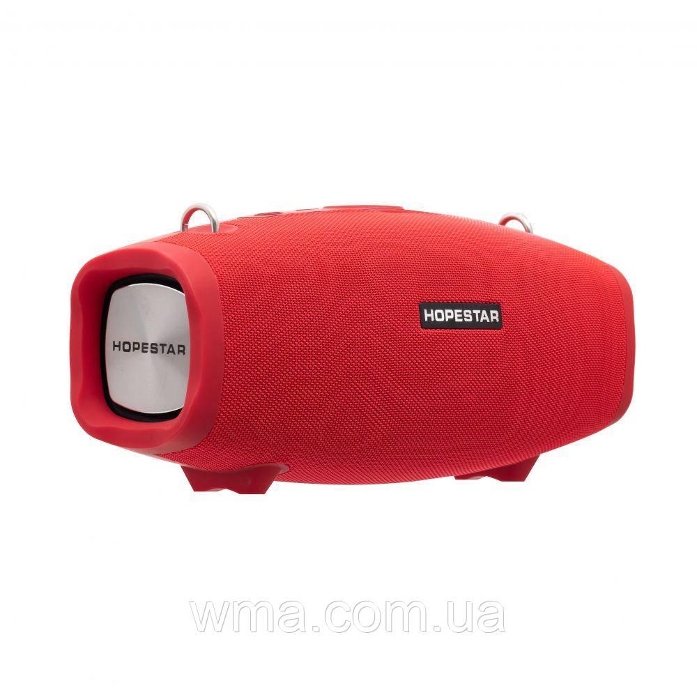 Bluetooth колонка (Беспроводная портативная блютуз) Hopestar H-X Цвет Красный