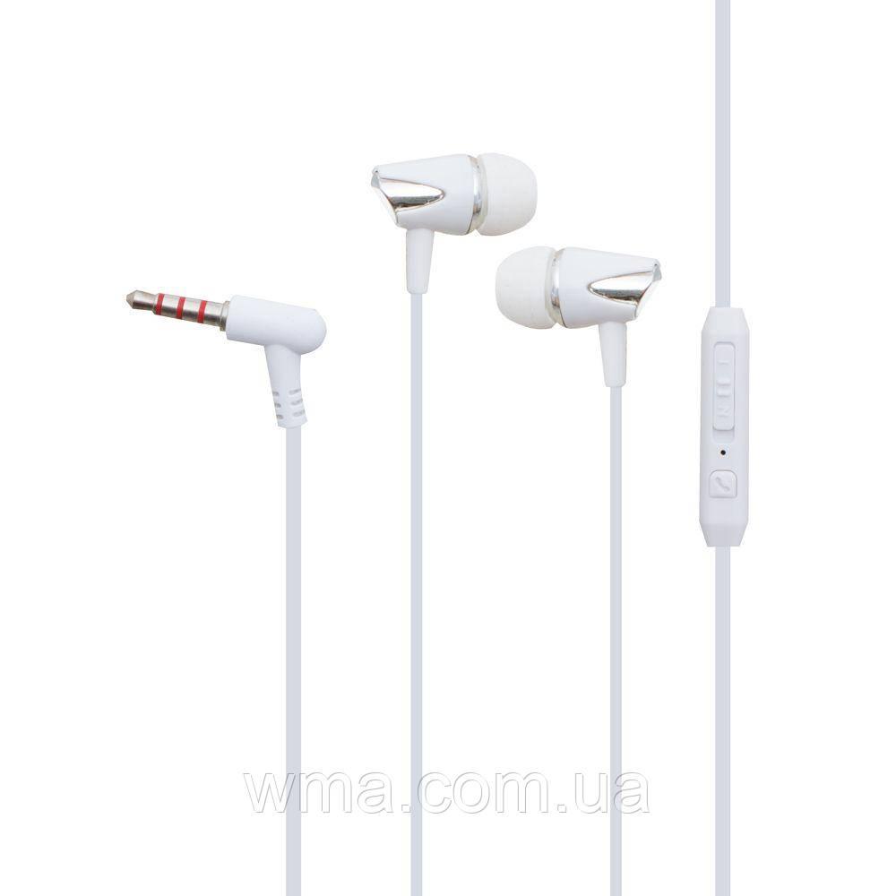 Проводные наушники для телефона Melody QZ33 Цвет Белый