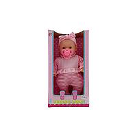 Кукла-пупс Maya toys Малышка с соской 25см MY86624