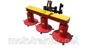 Улучшенная косилка для мототрактора КР-1.65