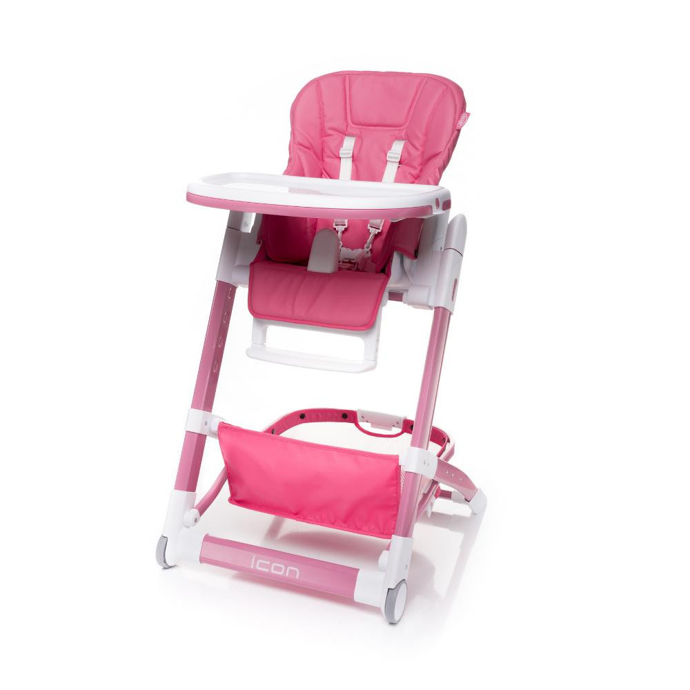 Стульчик для кормления 4baby Icon Pink