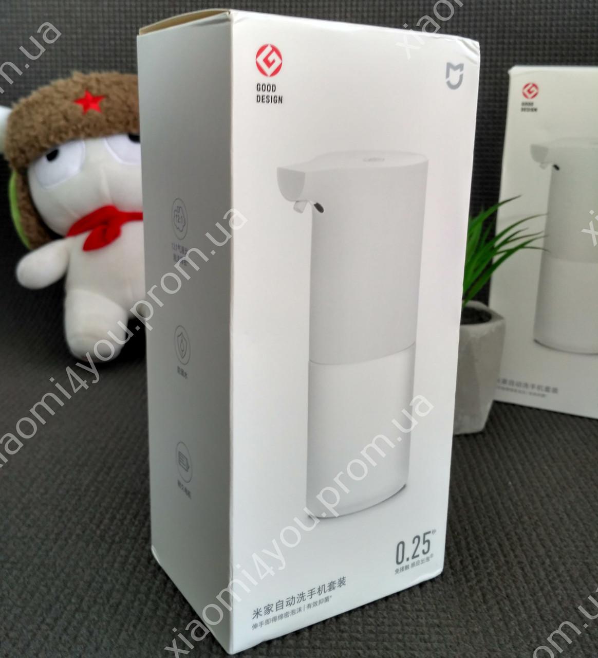 Дозатор для мыла Xiaomi Mijia Automatic Induction Soap Dispenser. Бесконтактный диспенсер,мыльница