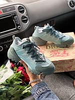 Жіночі кросівки D!or D-connect Green Khaki, Репліка Люкс, фото 1