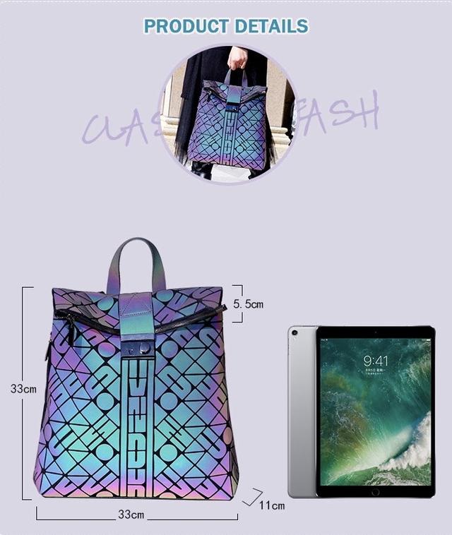 Купить рюкзак светоотражающий хамелеон фото