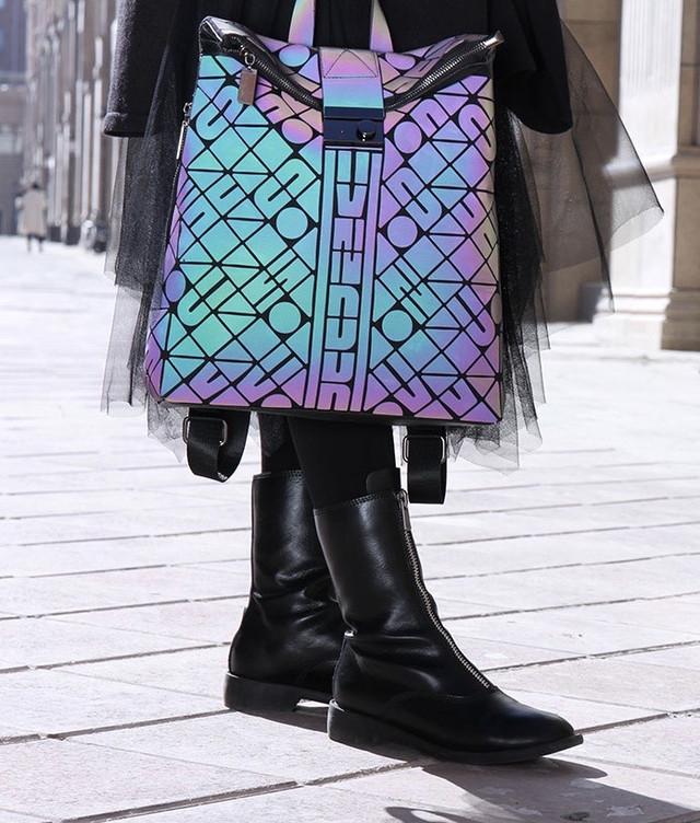 Рюкзаки женские отражающий материал фото