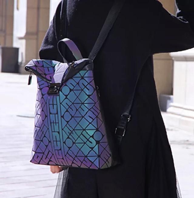 Рюкзак женский фото хамелеона