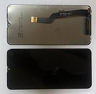 Дисплей модуль для Samsung A105F Galaxy A10 (2019) в зборі з тачскріном, чорний, ORIGINAL