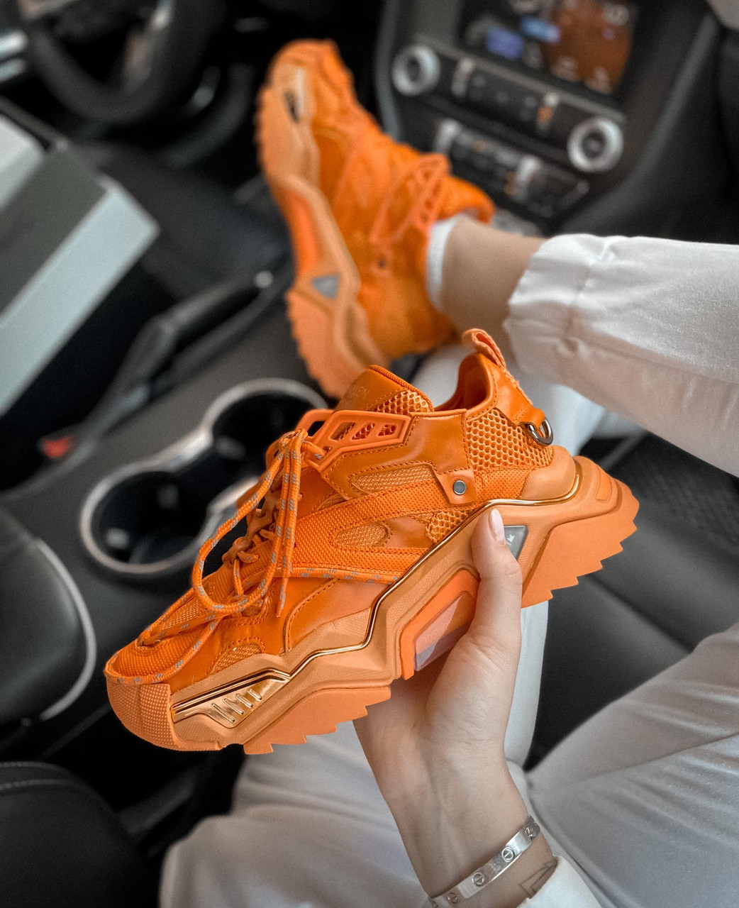 Жіночі кросівки C*lvin Klein, Репліка Люкс