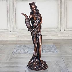 Статуэтка Фортуна 62 см полистоун бронзовый