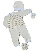 Крестильный набор для новорожденного (мальчик) Баранчик БО 078-01-02-0020