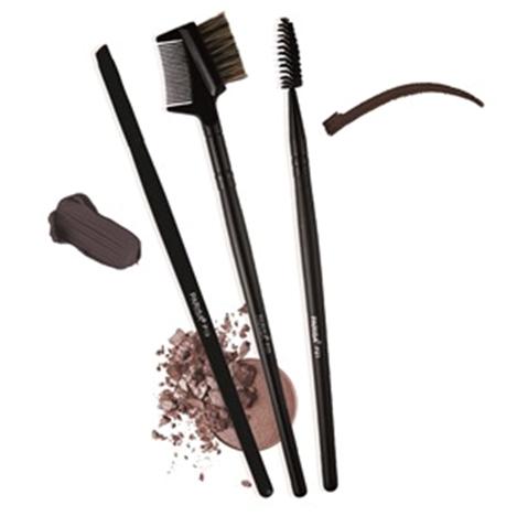 Набор Кистей Parisa P101 - для макияжа бровей