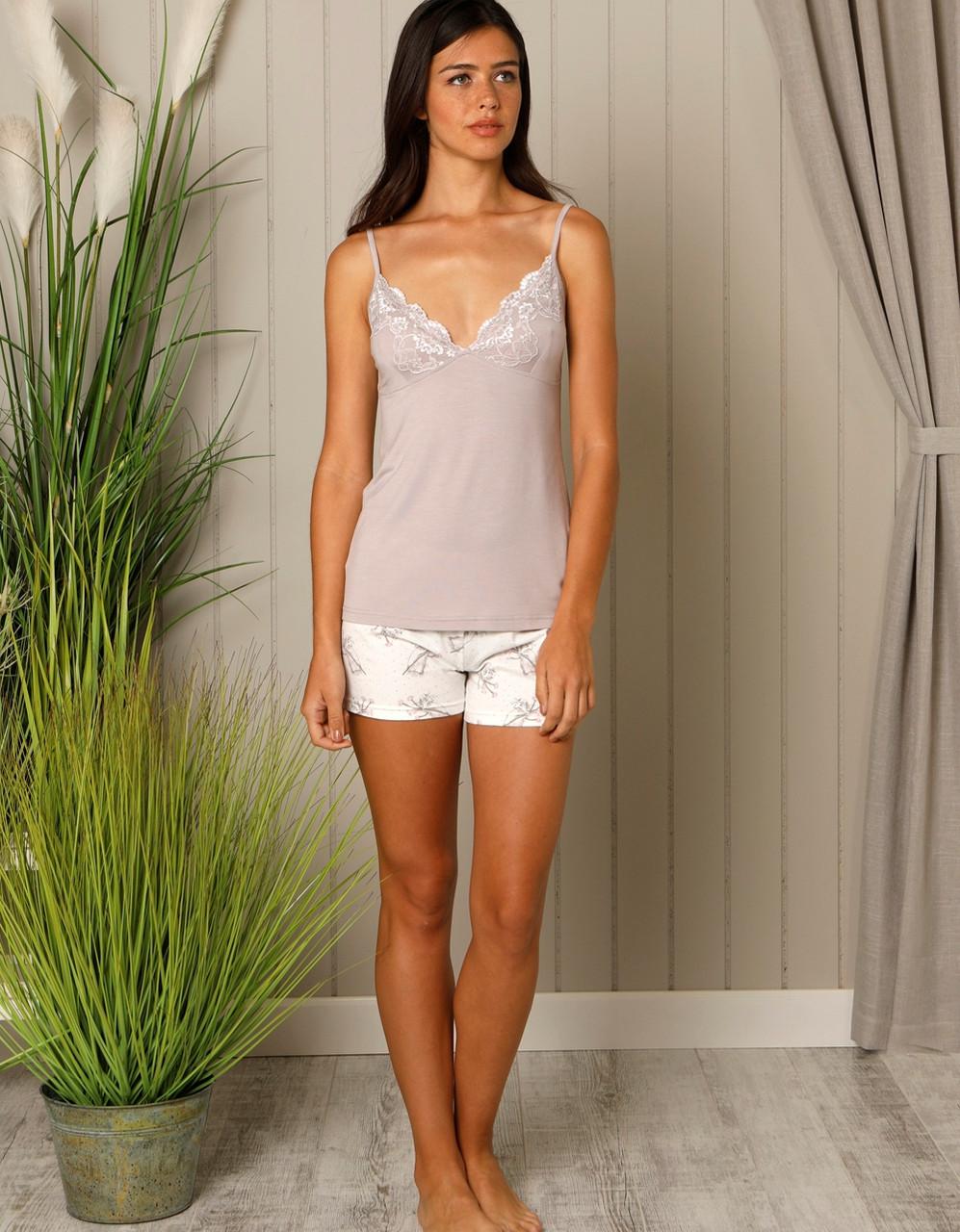 Женская домашняя одежда комплект (майка + шорты) HAYS 18541