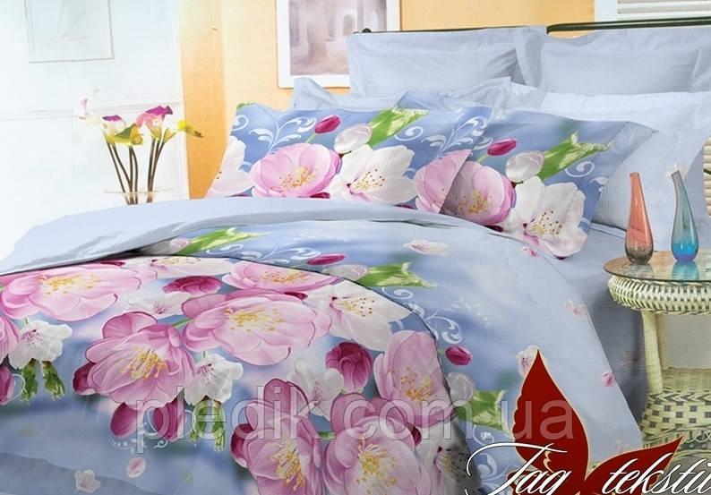 Полуторный комплект постельного белья TAG поликоттон 3D BR4376