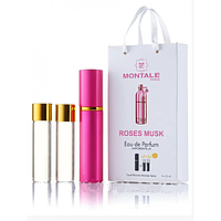 Мини-парфюм с феромонами женский MONTALE Roses Musk 3х15 мл