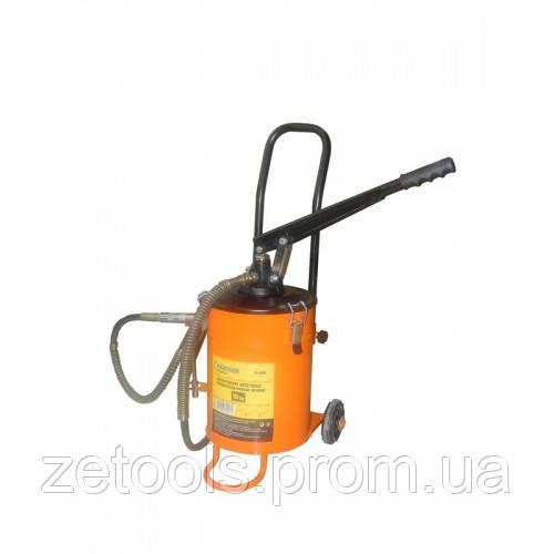 Нагнетатель смазки ручной+ дополнительный ремкомплект к штоковому механизму, 10кг (длина шланга 2м)