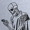 """Футболка мужская бел меланж HOPE с принтом """"Fuck You All"""" Ф-11 WTGRI XL(Р) 20-807-020, фото 3"""