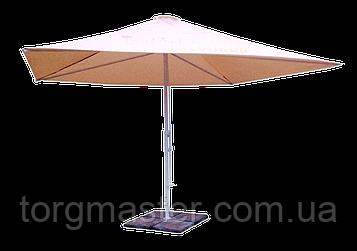 Зонт для летних кафе 2.5х2.5м  с утяжелителями