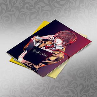Скетчбук А5 кремові листи Death note 30 аркушів 004