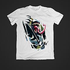 Футболка мужская с принтом Venom