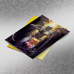 Скетчбук А5 кремові листи Death note 30 аркушів 005