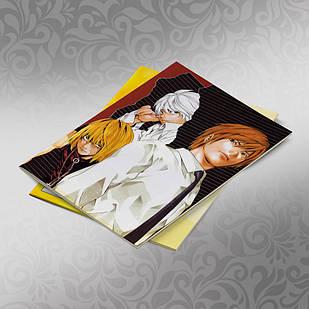 Скетчбук А5 кремові листи Death note 30 аркушів 007