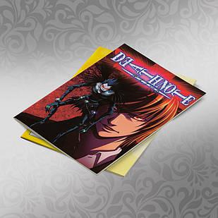 Скетчбук А5 кремові листи Death note 30 аркушів 009