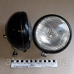 Фара задняя с лампой, металическая ФГ-304М