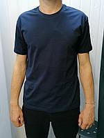 Чоловіча однотонна футболка
