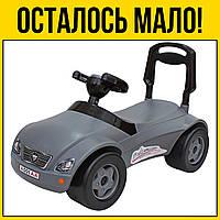 Машинка каталка Мерсик серая   Детские игрушки игры лет года детское для детей мальчиков девочек