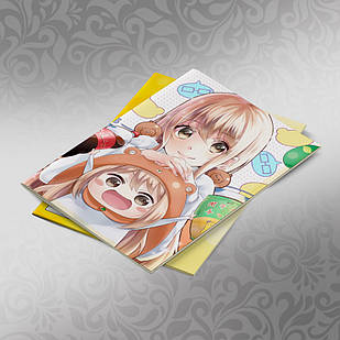 Скетчбук А5 кремовые листы Himouto! Umaru chan 30 листов 002