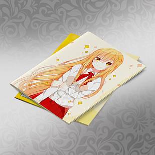 Скетчбук А5 кремовые листы Himouto! Umaru chan 30 листов 004
