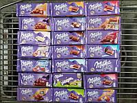 Шоколад Milka 100 грам в асортименті